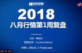 经传软件2018年8月11日周六培训课(八月份行情第一周复盘)}